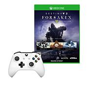 "Xbox One S Controller with ""Destiny 2: Forsaken"" Game"