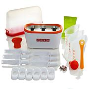 Zoku Quick Pop Maker With Tools and Storage Case