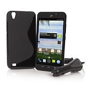 """ZTE Quartz 5.5"""" Android TracFone with 1200 Minutes"""