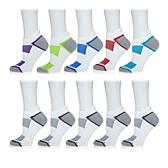 Copper Fit™ 10 Pair Unisex Ventilated Performance Sock