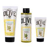 Korres Olive Oil & Bergamot Bath & Body Trio