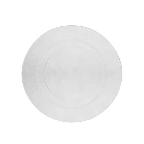 "10 Strawberry St Hammered Glass 10.7"" Dinner Plate - 6"