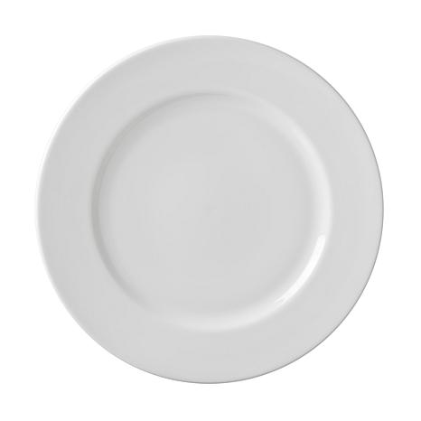 10 Strawberry St White 10.75\  Dinner Plate - 6  sc 1 st  HSN.com & 10 Strawberry Street Classic White 10.75\