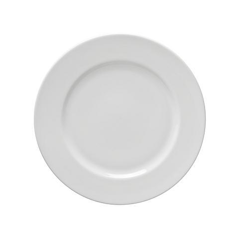 "10 Strawberry St White 8"" Salad/Dessert Plate - 6"