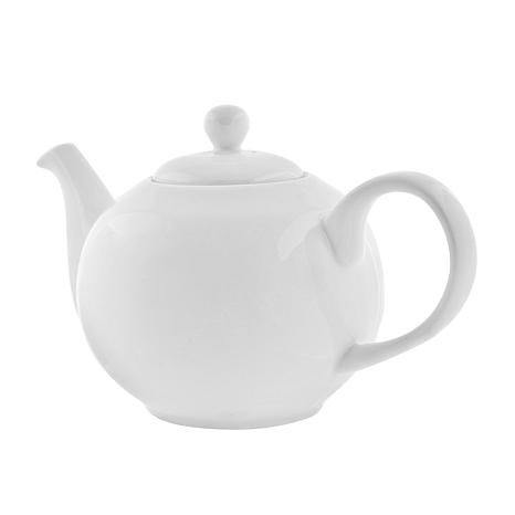 10 Strawberry Street Classic White Teapot