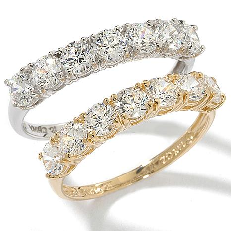 1.05ctw Absolute™ Round Stone 14K Band Ring