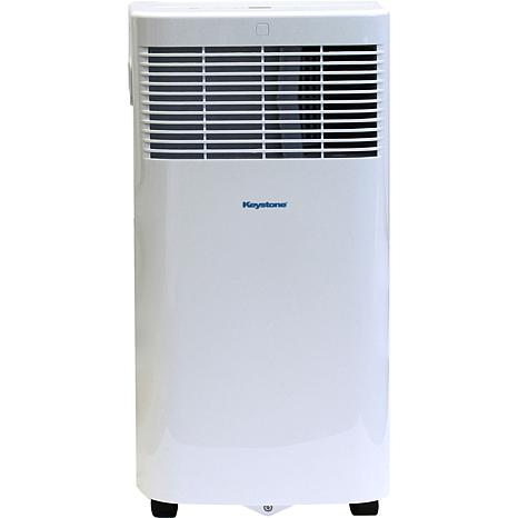 115V Portable Air Conditioner with Remote for Rooms up to 50 Sq. Ft.