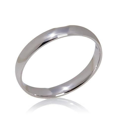 14K Gold 3mm High Polished Comfort Fit Band Ring