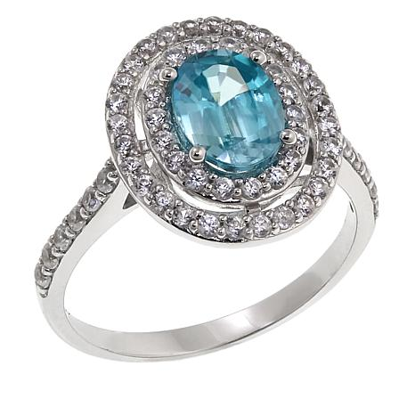 designer blue ring jewelry boston shop diamond bdji imports zircon inc