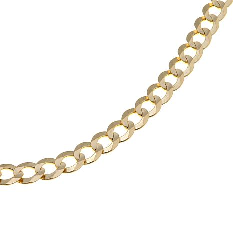 "14K Yellow Gold 5.7mm 22"" Curb Chain"
