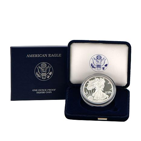 2007 W-Mint Proof Silver Eagle Dollar Coin