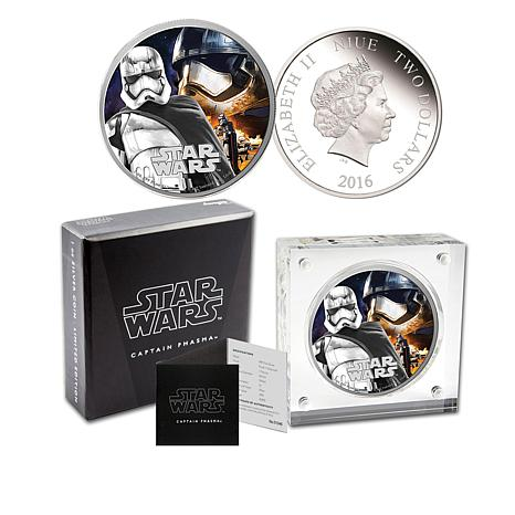 2016 Star Wars Silver Proof LE Niue $2 Coin - Phasma
