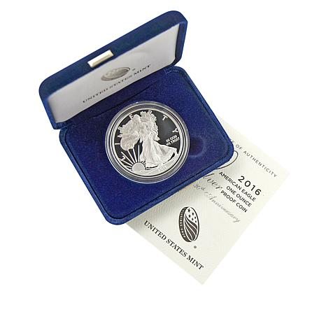 2016 W-Mint Proof Silver Eagle Dollar Coin