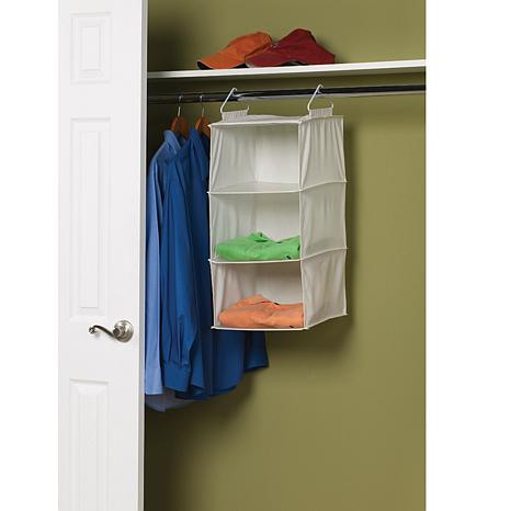 3-Shelf Canvas Organizer