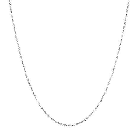 """30"""" 14K Gold Oval Rolo Chain"""