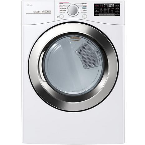 7.4 Cu. Ft. Ultra Large Capacity Electric Dryer - White