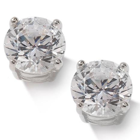 Absolute™ 2ctw Cubic Zirconia Round 4-Prong Studs