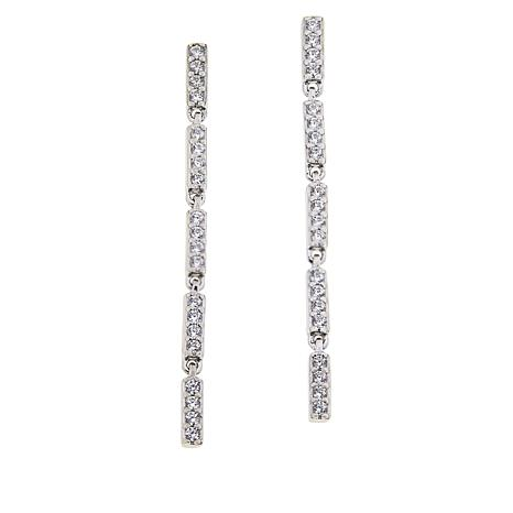 306c42291 Absolute™ Sterling Silver Linked Station Drop Earrings - 8953247 | HSN