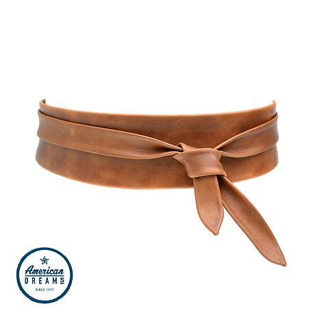 ADA Collection Argentinean Leather Classic Wrap Belt