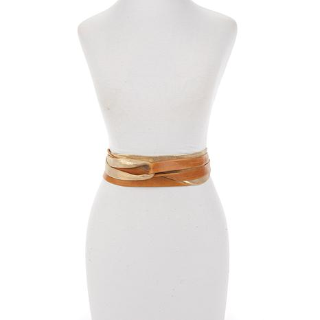 ADA Collection Argentinean Leather Minnie Wrap Belt