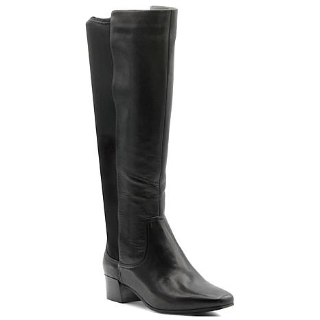 Adrienne Vittadini Cecil Tall Leather Boot