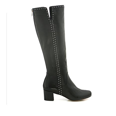 Adrienne Vittadini Larosa Leather Boot