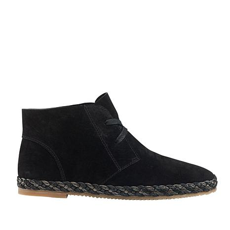 Aetrex® Addison Suede Lace-Up Bootie
