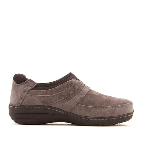 Aetrex® Kimber Waterproof Leather or Suede Slip-On Sneaker