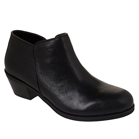 Aetrex® Laurel Leather Ankle Bootie