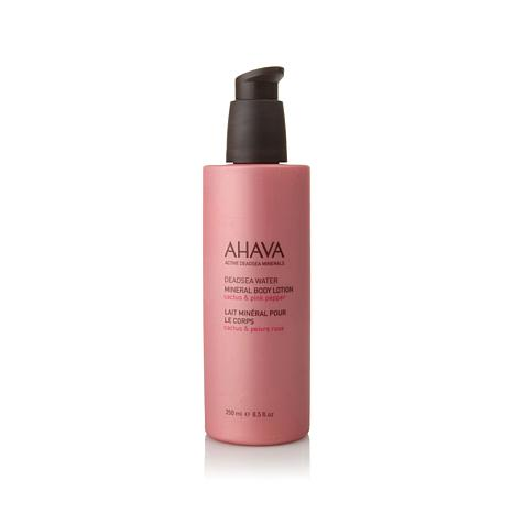 AHAVA Cactus & Pink Pepper Mineral Body Lotion