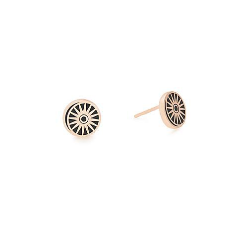Alex and Ani Cosmic Balance Stud Earrings