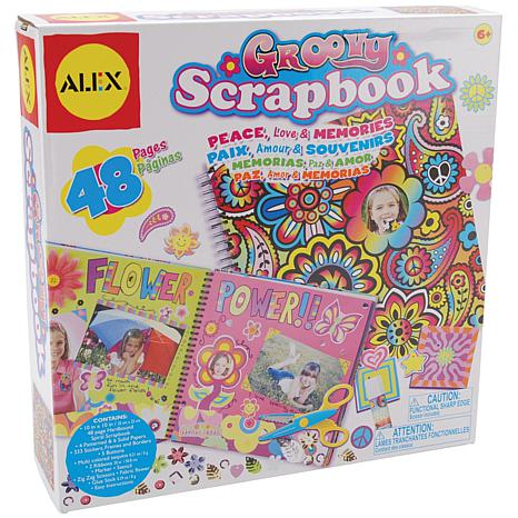 ALEX Toys Little Hands Groovy Scrapbook Kit