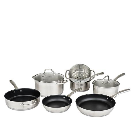 Allrecipes™ 10-piece Cookware Set