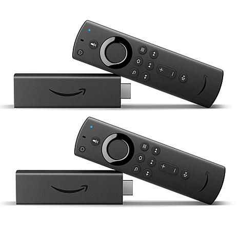 2-Pack Amazon Fire TV Stick 4K Streaming Media Player