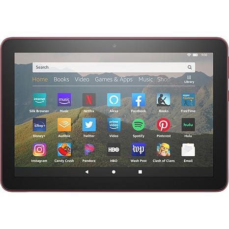 Amazon Fire 8 HD 32GB Tablet in Plum
