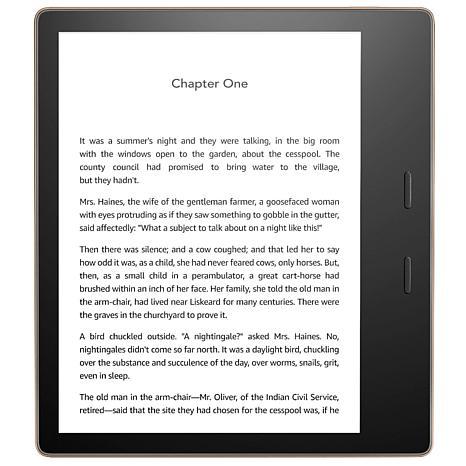 new! Amazon Kindle Oasis with 32GB Memory