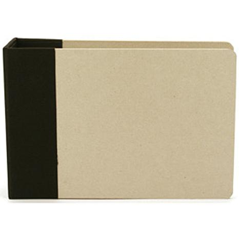 American Crafts Modern D-Ring Album 6X6 - Black