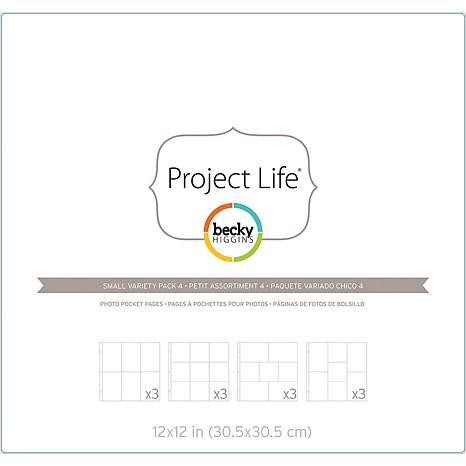 American Crafts Page Protectors Variety Pack 4