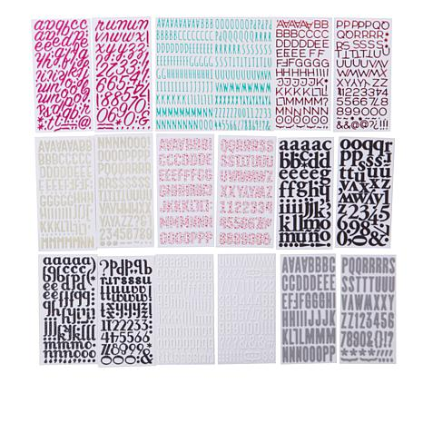 American Crafts Thickers Sticker Bundle