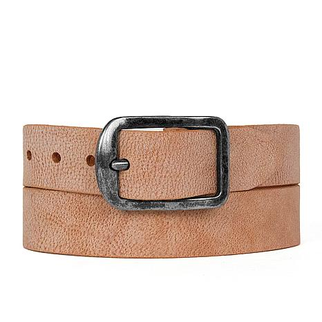 Amsterdam Heritage Noel Vintage Pebbled Leather Belt