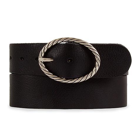 Amsterdam Heritage Yara Vintage Buckle Leather Belt
