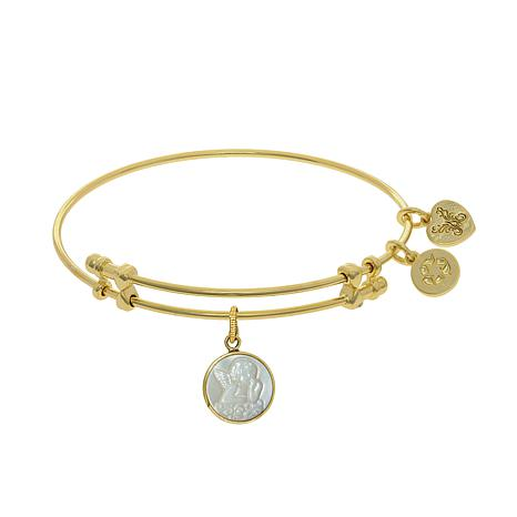 Angelica Angel Wire Expansion Bangle Bracelet