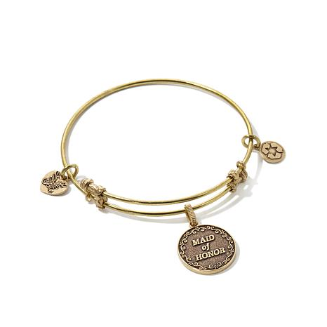 Angelica Maid of Honor Slide-Clasp Bangle Bracelet