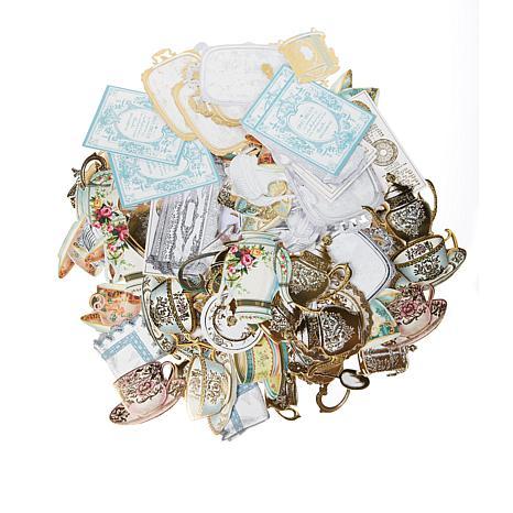 Anna Griffin® 120-piece Favorite Tea Embellishments