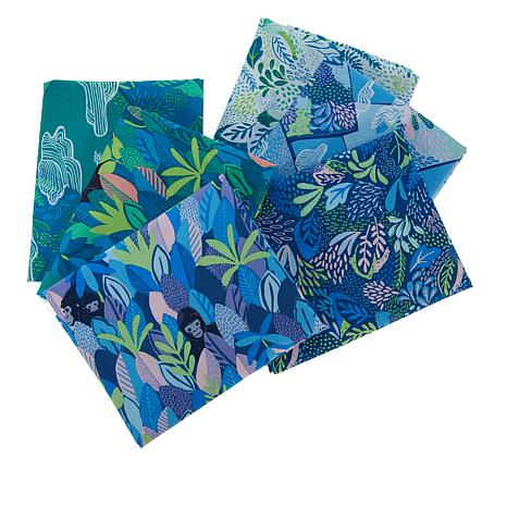 Anna Griffin® 6-piece Cotton Bwindi Forest Fat Quarters