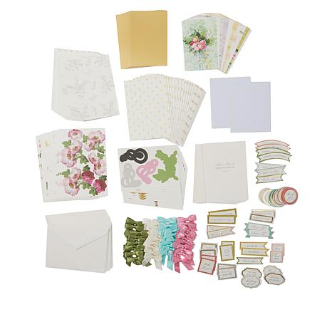Anna Griffin Blooming Decoupage Card Kit 8629606 Hsn