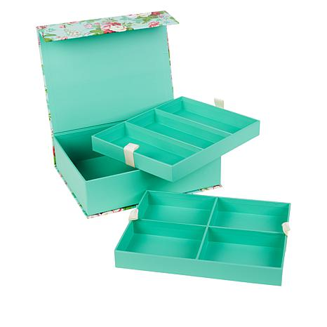 Anna Griffin® Embellishment Storage Box with Pull-Out Trays