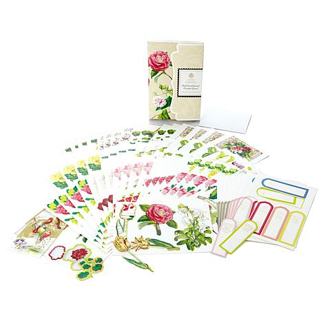 Anna Griffin Floral Pocket Embellishment Kit