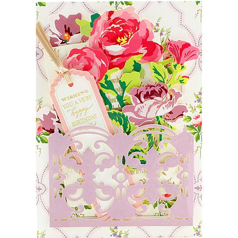 Anna Griffin® Floral Pocket Embellishment Kit   8319242 | HSN