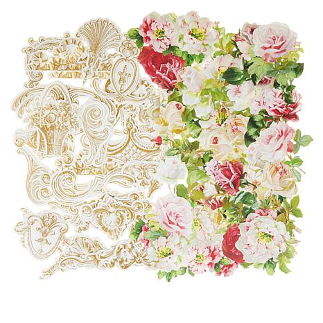 Anna Griffin® Floral/Boiserie Die-Cuts for Decoupage